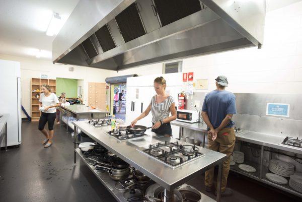 Cairns Central YHA Kitchen