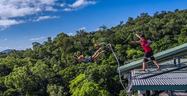 AJ Hackett Bungy Jumping in Cairns